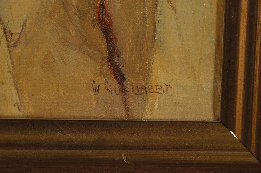 W. Huschert, German painter of the first half of the - 4