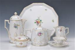 coffee and tea set Nymphenburg Middle of 20th c