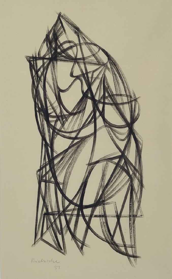 Georg Frietzsche, 1903-1986, abstract artist, 1924-28