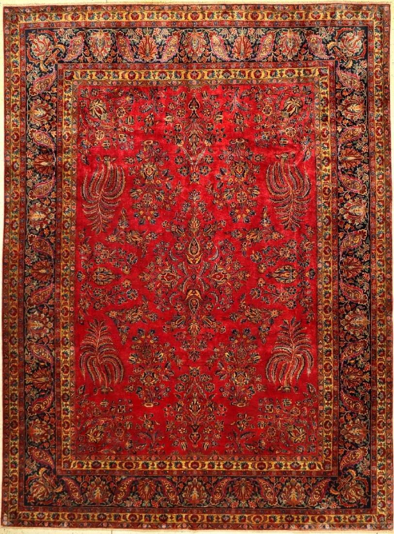 Fine US Kurk Kashan Carpet,