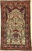 Fine Isfahan 'Ahmad' Rug (Paradise-Vase),