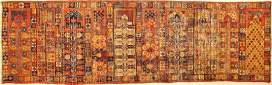 Important & Rare Early Khotan 'Saf' Rug,