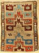 'Camel-Wool' Ground Konya Karapinar 'Prayer Rug',