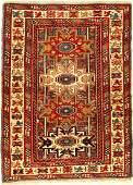 Kuba Shirvan Rug (Lesghi Pattern),
