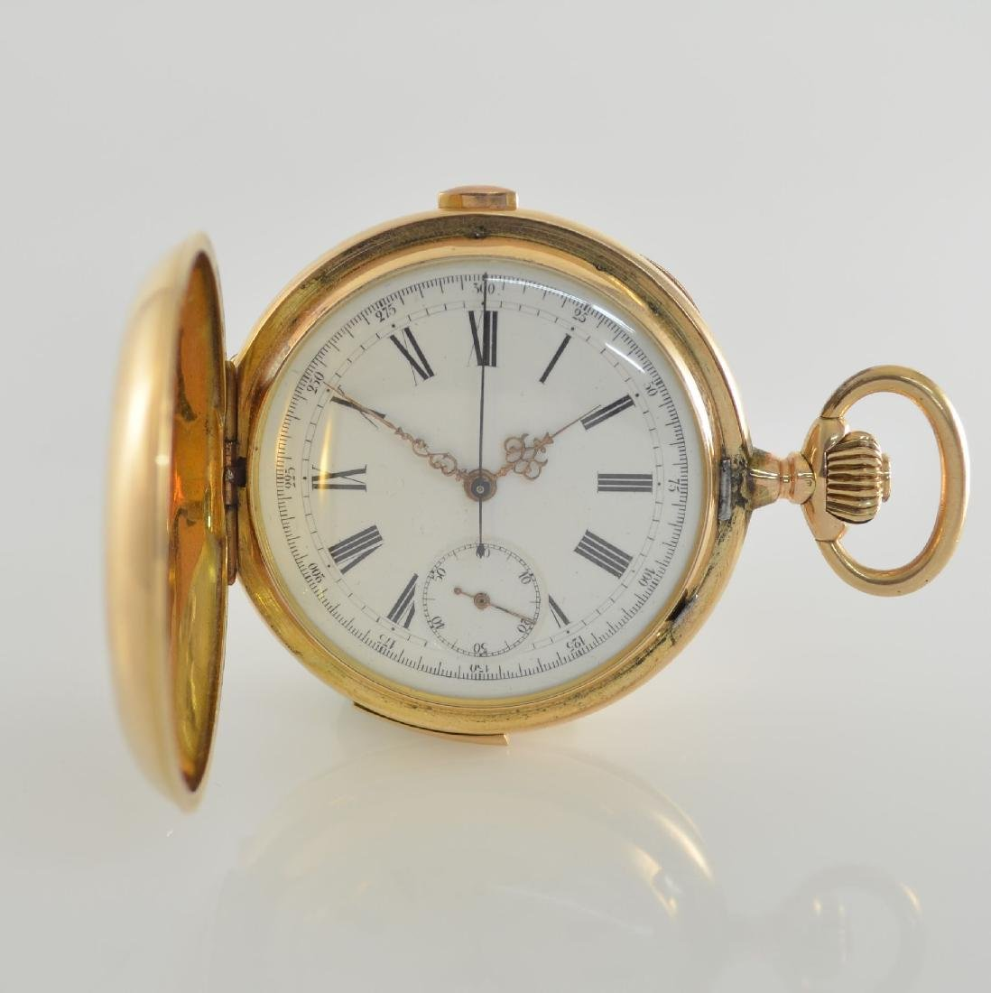 14k gold pocket watch with 1/4 repetition