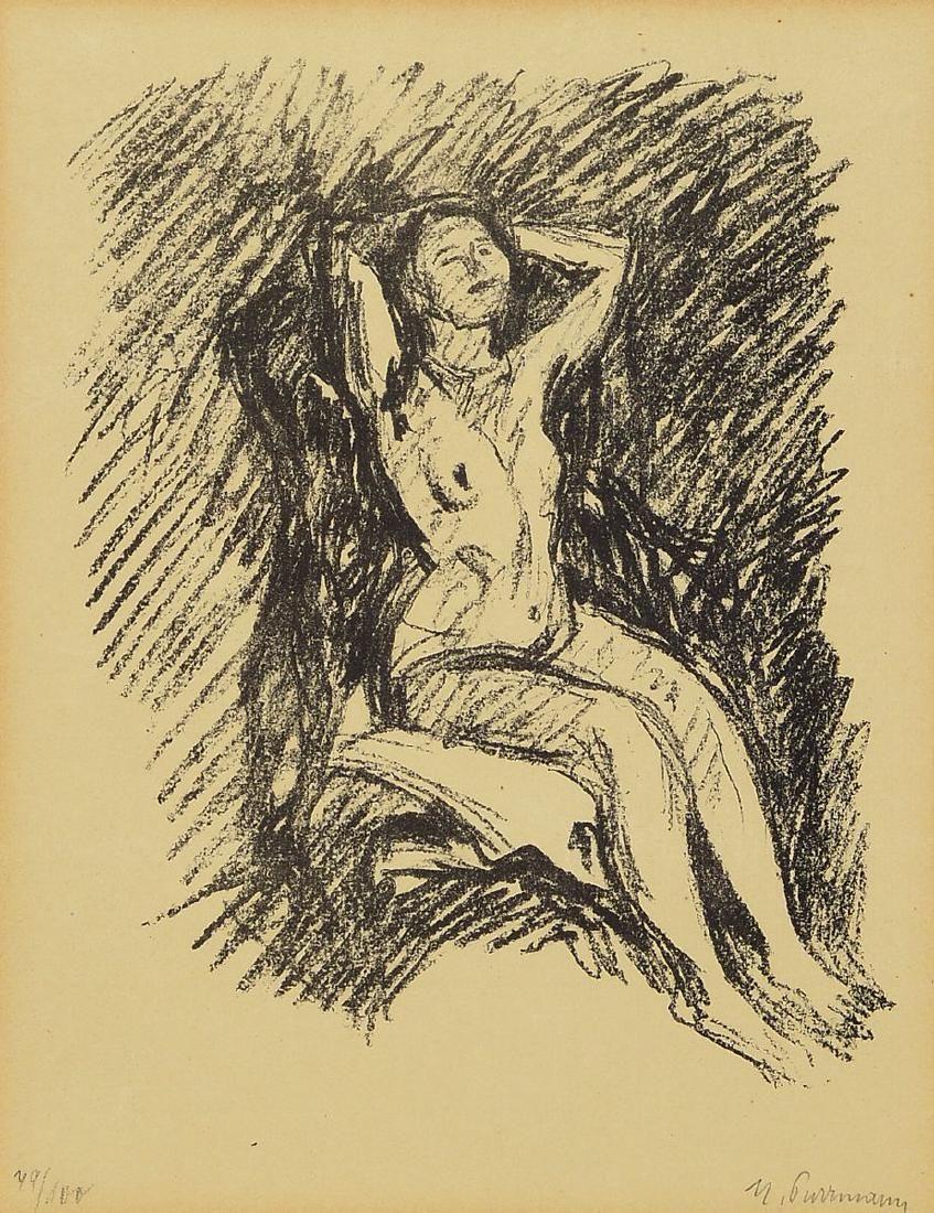 Hans Purrmann, 1880 Speyer-1966 Basel, sittingnude
