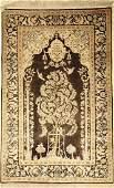 Silk Kashan Rug,