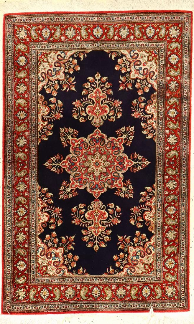 Silk Qum Rug,