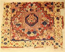 Central Anatolian Rug 'Fragment' (Ghirlando Pattern),