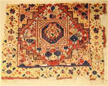 Central Anatolian Rug 'Fragment' (Ghirlando Pattern),