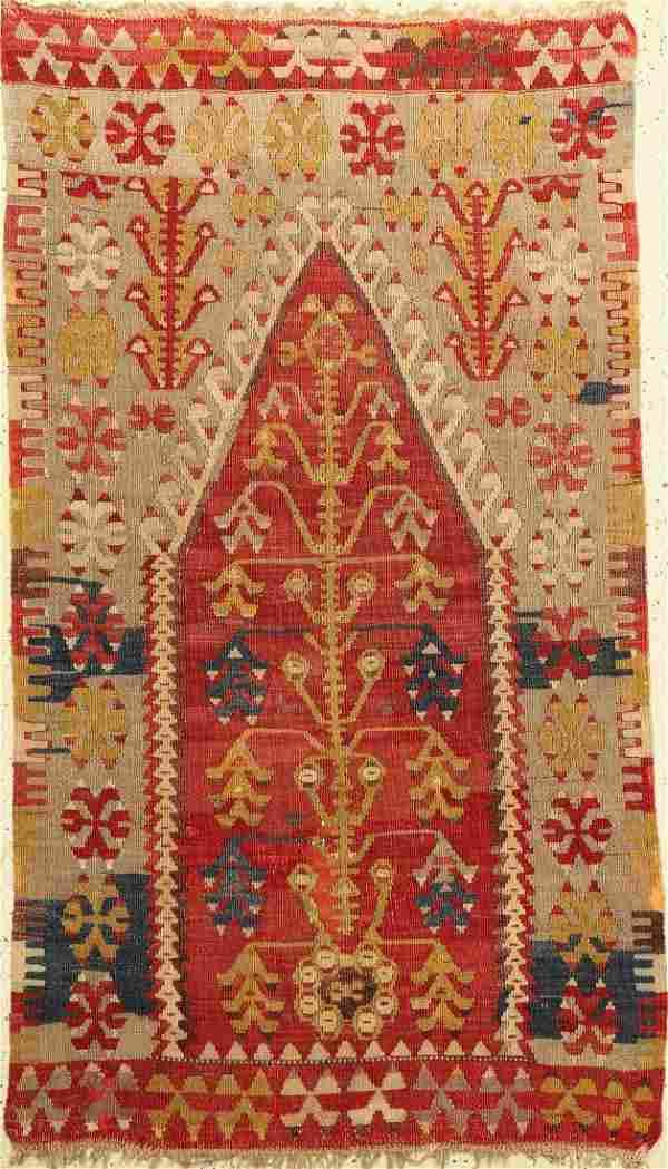 Anatolian 'Prayer-Kilim',