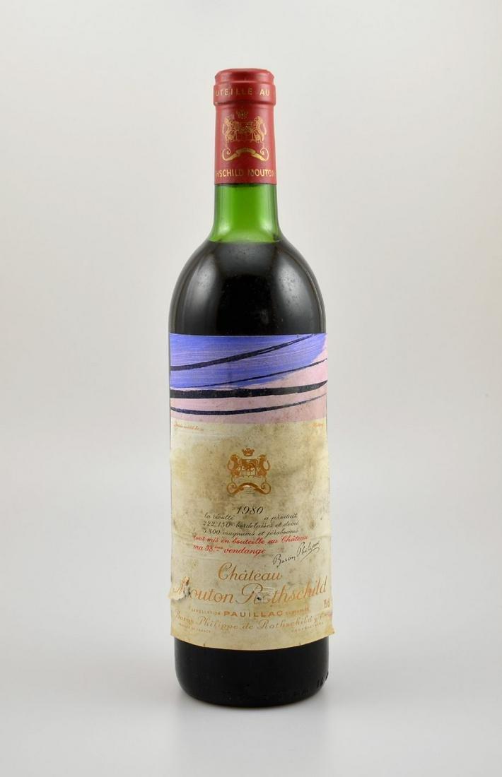 1 bottle 1980 Chateau Mouton Rothschild,