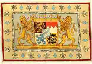 Coat Of Arms Rug (Bayern Ludwig II),
