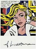 Roy Lichtenstein 19231997 MMaybe He Became ill
