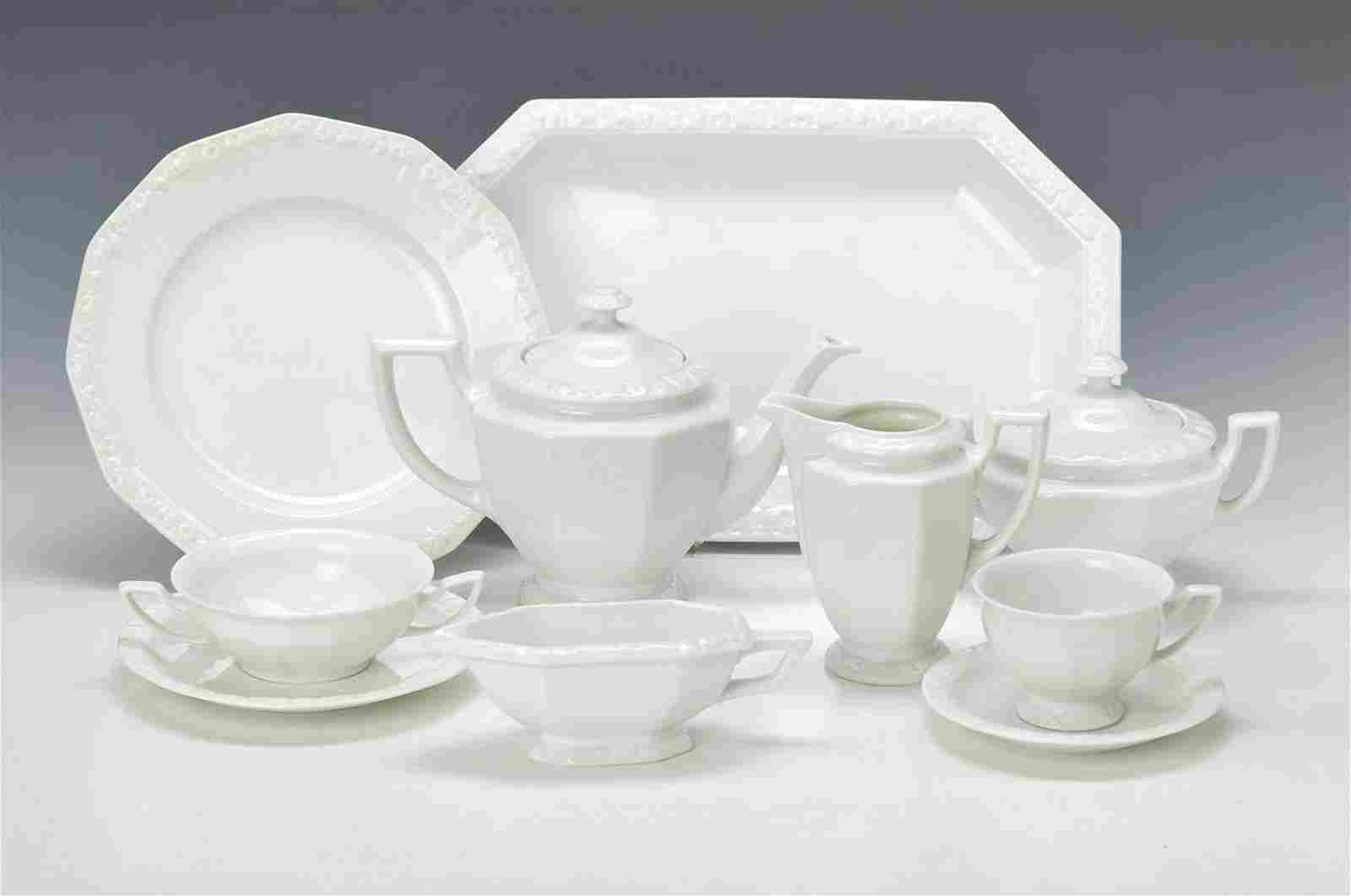 extensive Set, Model Mary in white, Rosenthal,Middle of