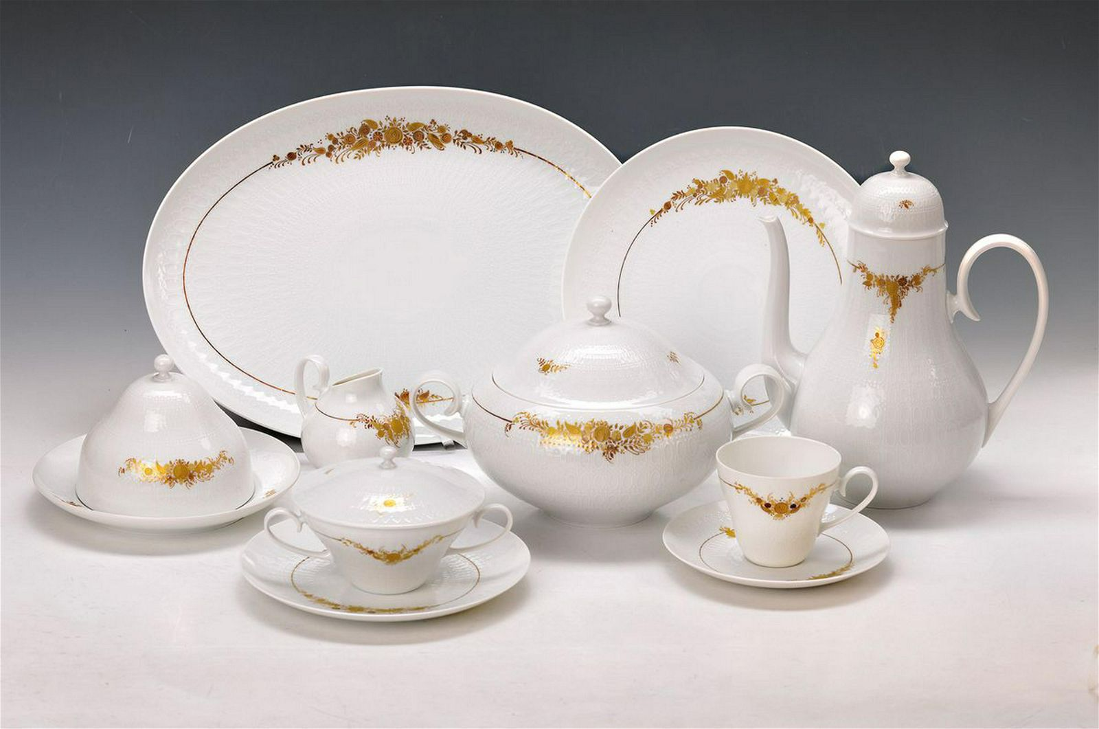 Dinner- and coffee set, Rosenthal, Romanze in Dur