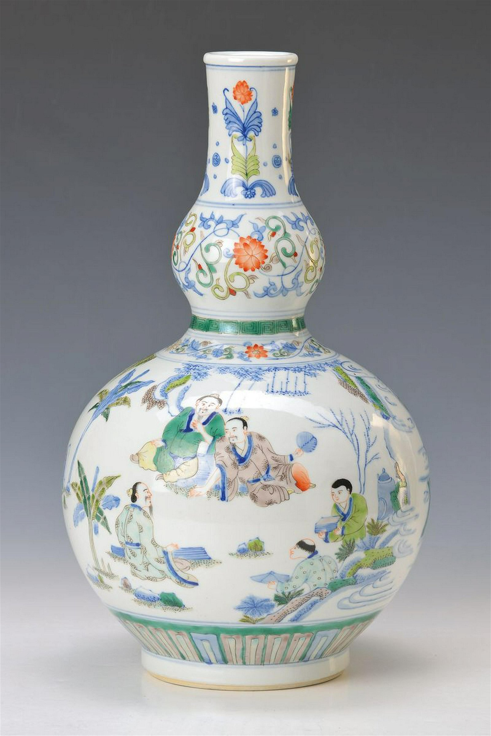 vase, China after the model of the Kang hsi period