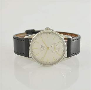 NOMOS Orion gents wristwatch in stainless steel