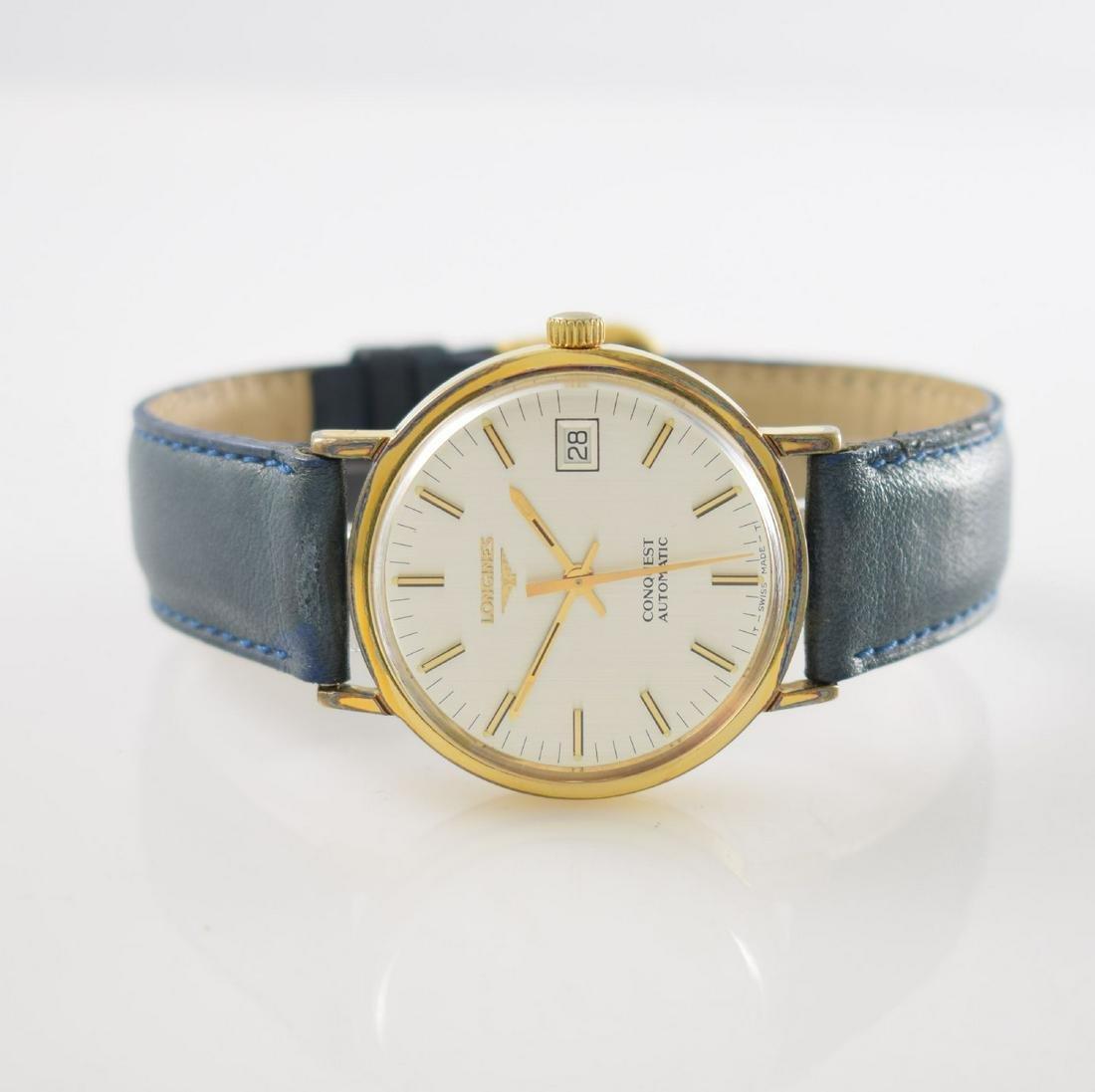 LONGINES gents wristwatch series Conquest