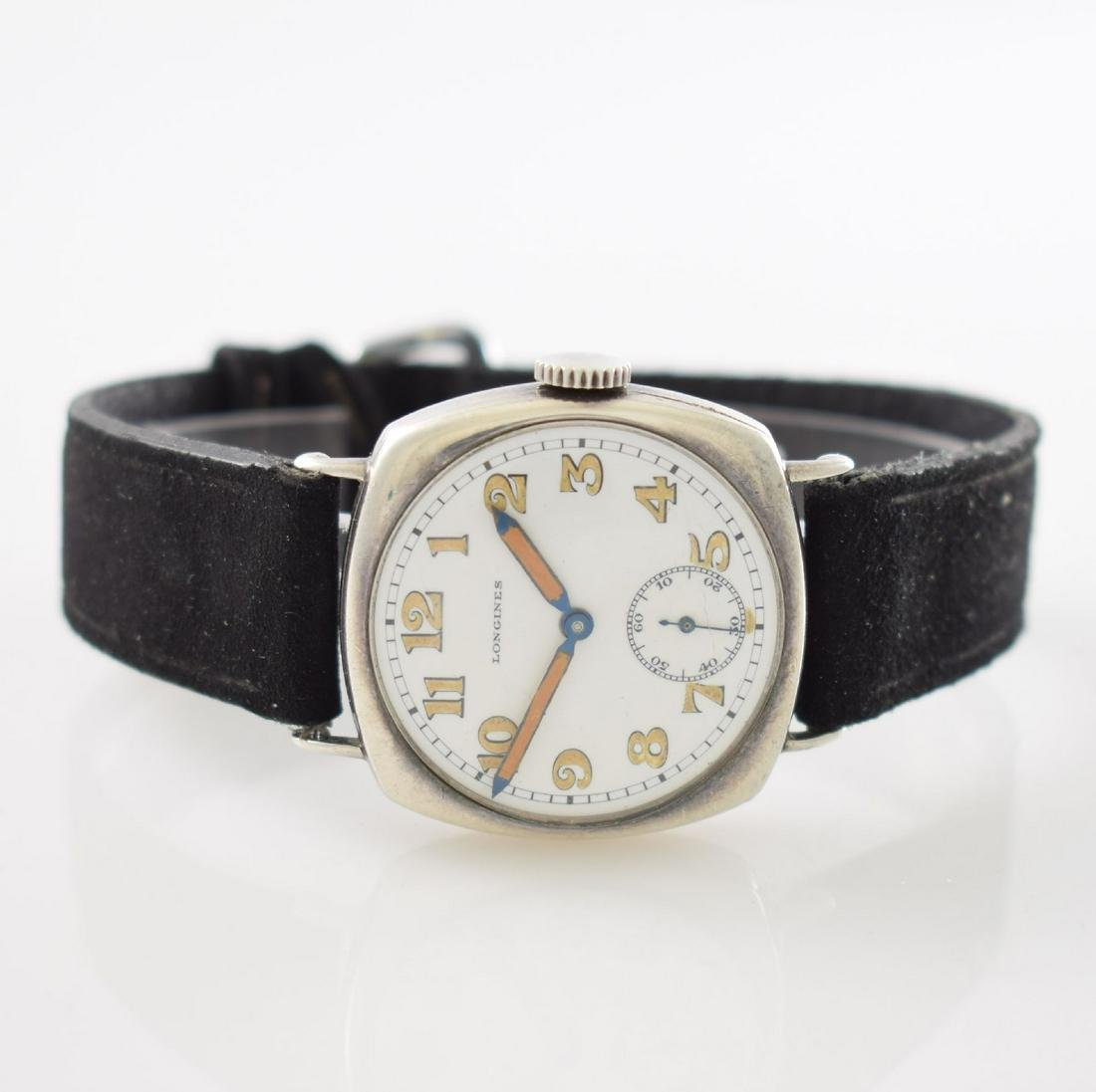 LONGINES early wristwatch in silver