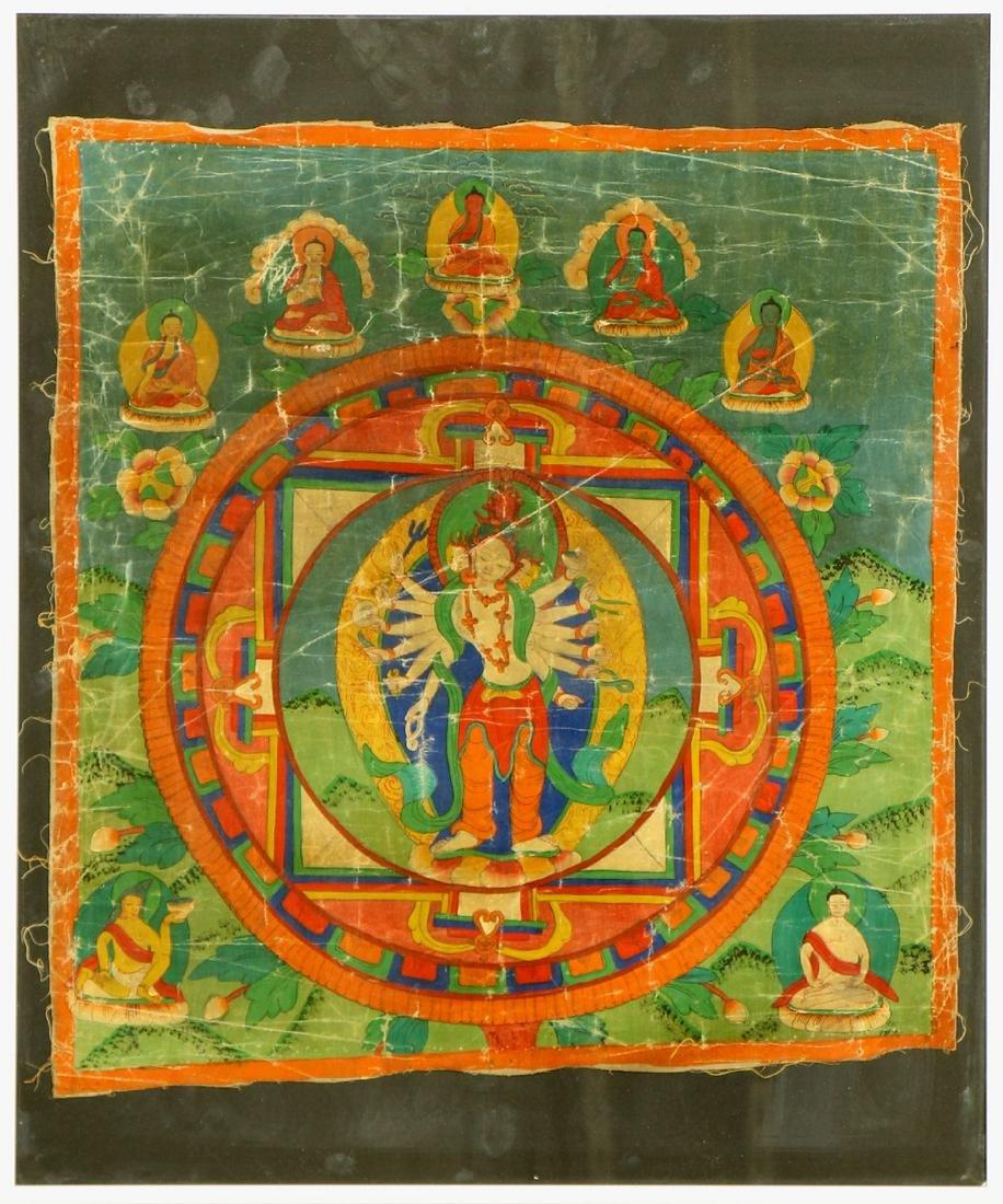 Tibetan Thangka,
