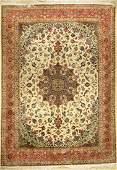 Tabriz 'Part-Silk' Carpet (50 RAJ),