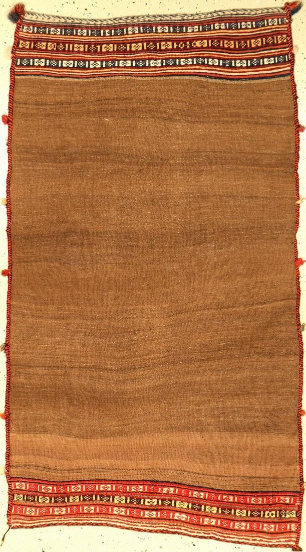 Qashqai Sofreh 'Flatweave' (Camel-Wool),