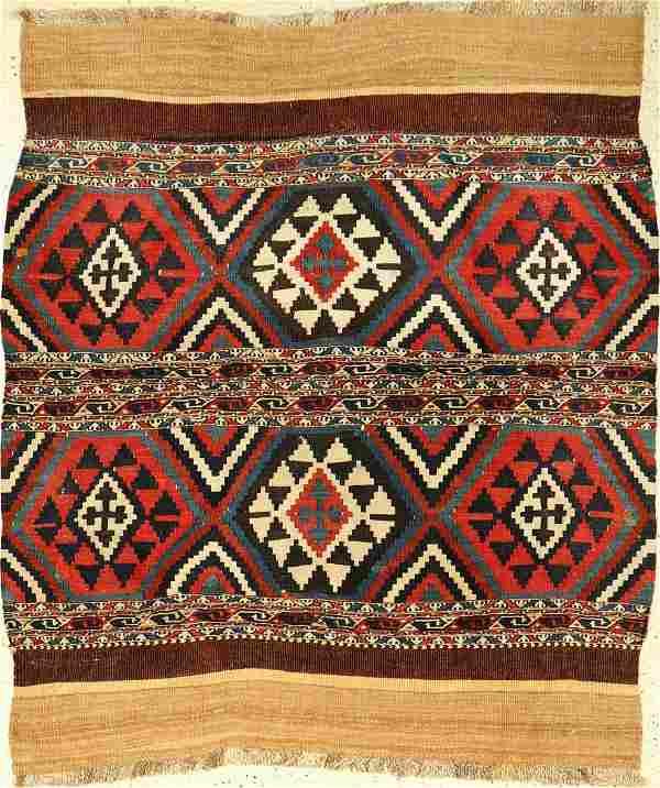 Shahsavan 'Mafrash-Panel' Kilim,