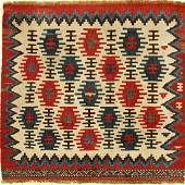 Shahsavan 'Mafrash-Panel', antique, Persia, 19th