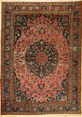 Tabriz Persia around 1920 wool on cotton approx