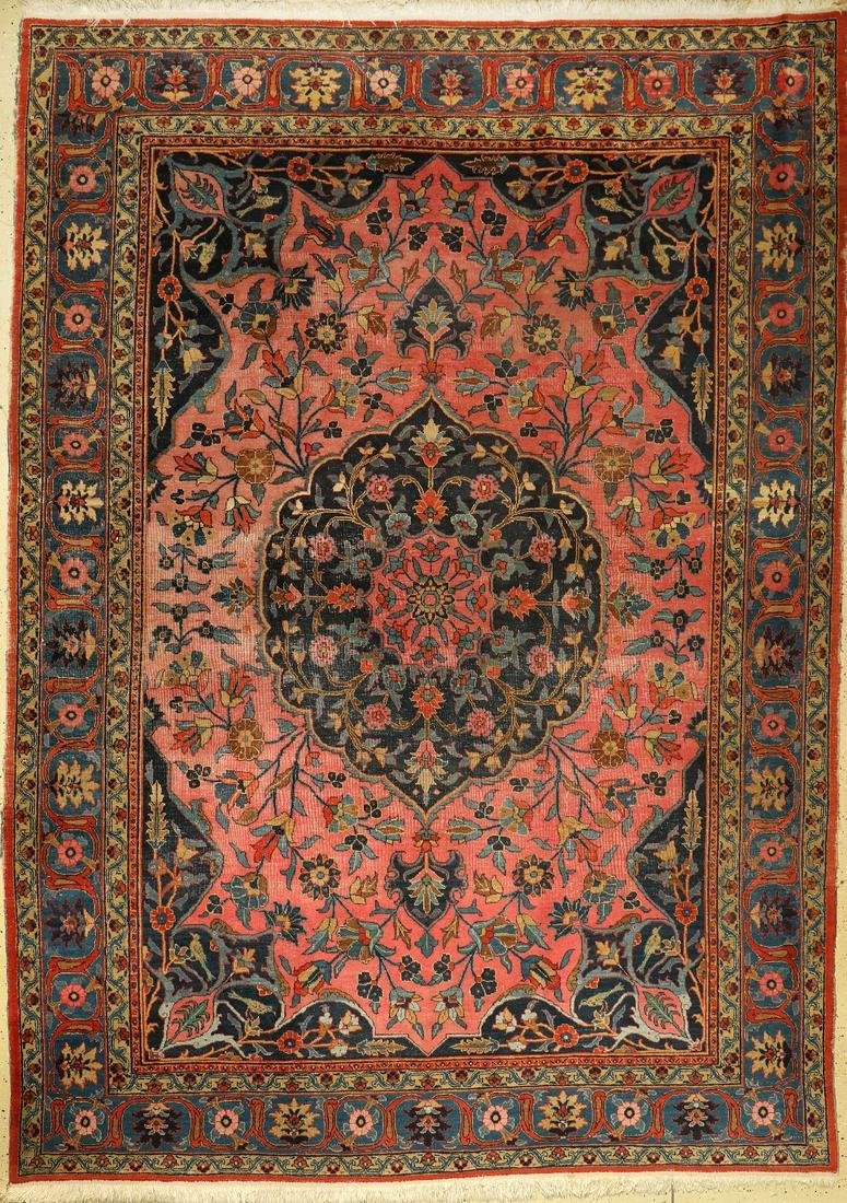 Tabriz, Persia, around 1920, wool on cotton, approx.