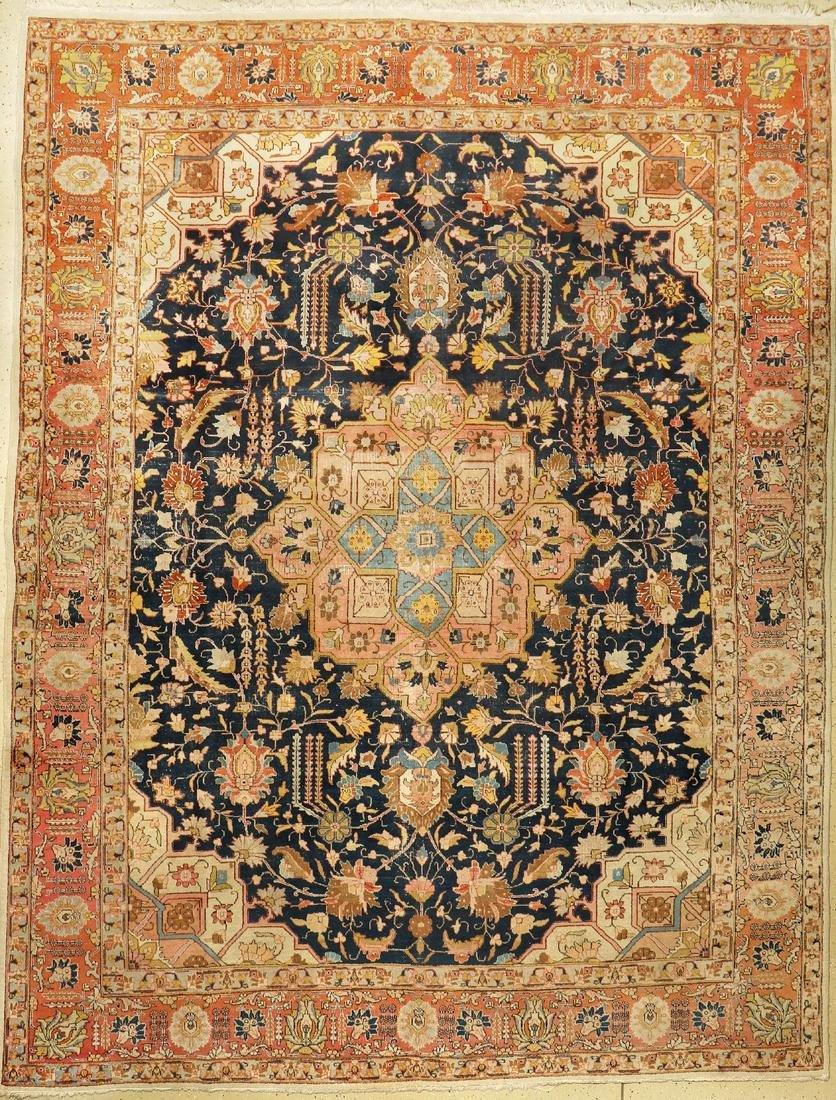 Tabriz, Persia, around 1920, wool on cotton, approx.