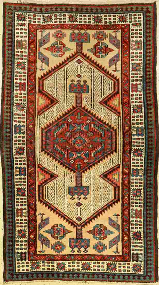 Sarab old, Persia, around 1920, wool on wool, approx.