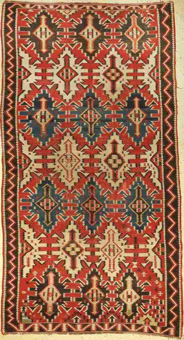 Kuba kilim antique, Caucasus, late 19th century