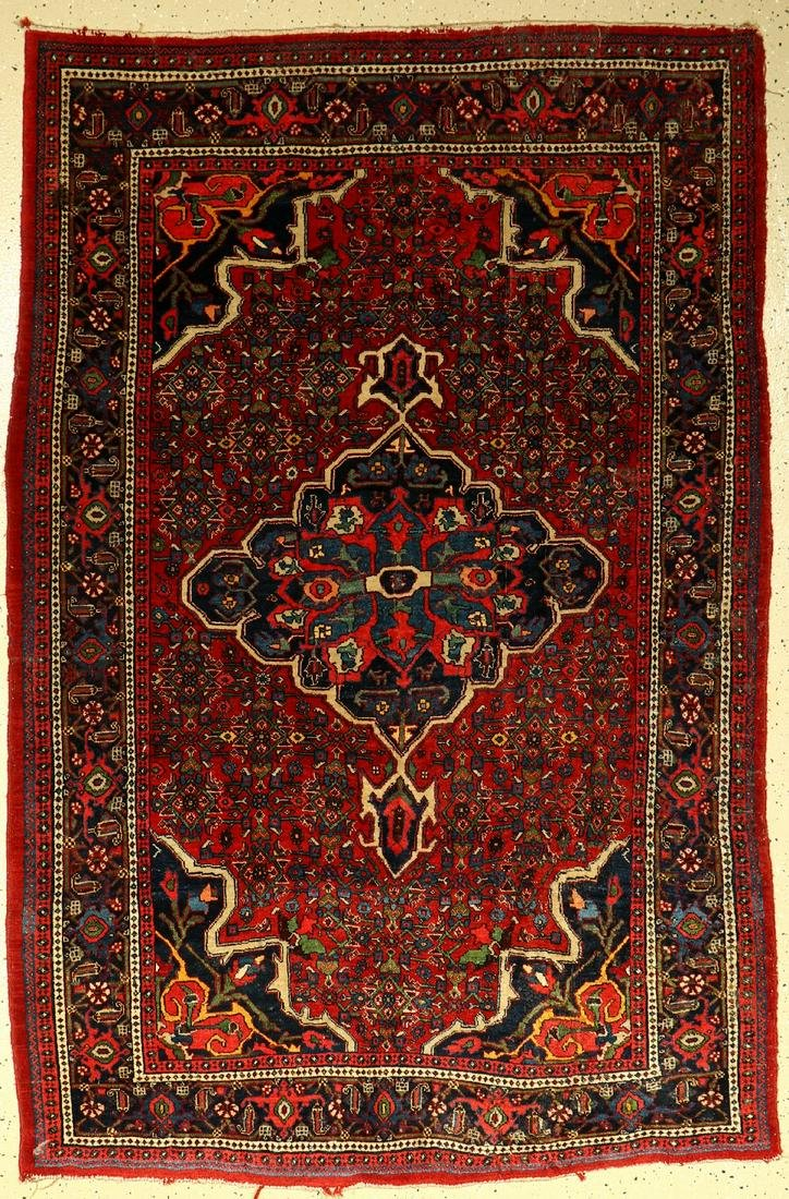 Bidjar antique, Persia, c. 1910, wool on cotton