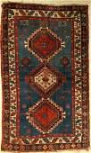 Kasak antique, Caucasus, around 1900, wool on wool
