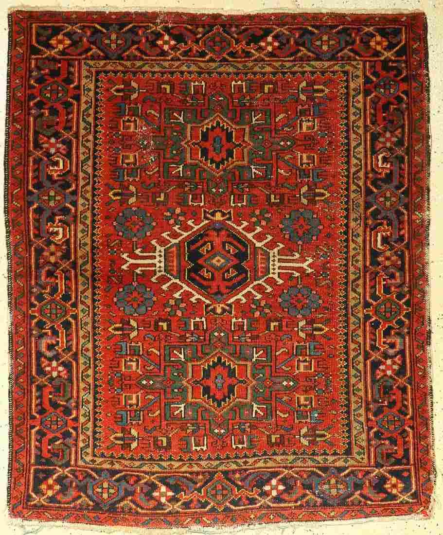 Garadje old, Persia, around 1920, wool on wool