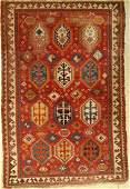 Bordjalou antique, Caucasus, around 1900, woolon wool
