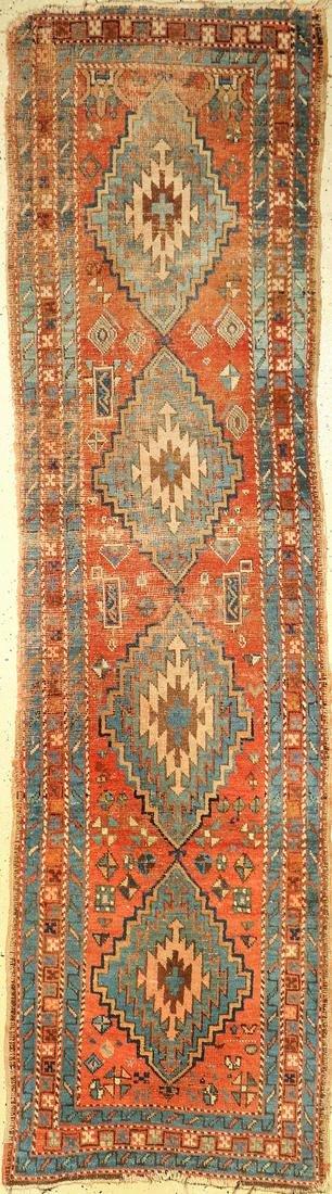 Heriz antique, Persia, around 1900, wool on cotton