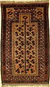 Baluch Prayer Rug old Persia around 1920 wool on
