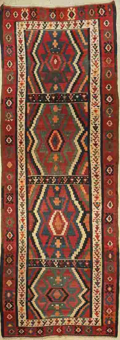 Northwest Kelim old, Persia, around 1940, woolon cotton