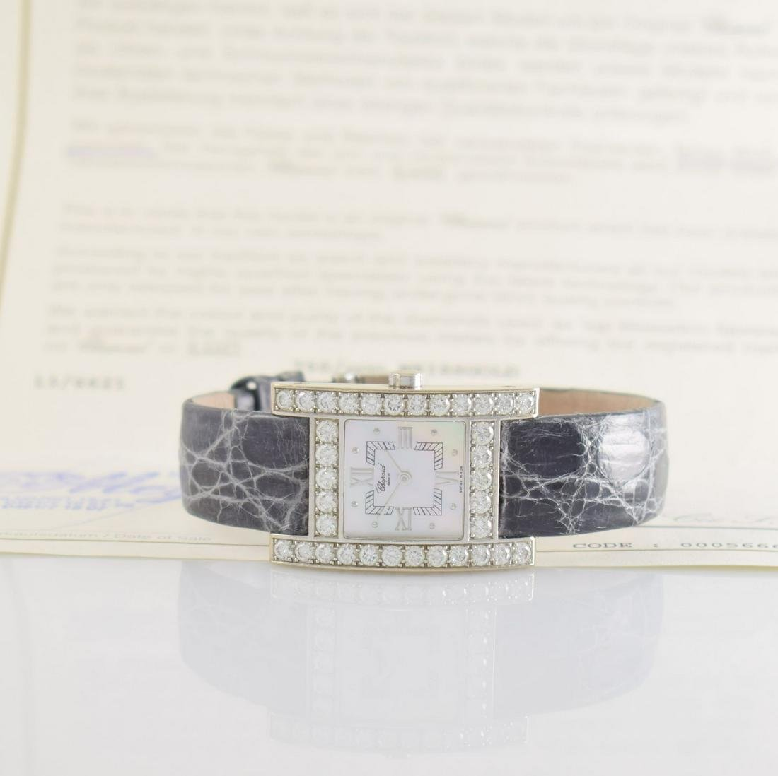 CHOPARD Your Hour 18k white gold, diamond set