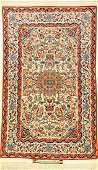 Fine Silk Ground Isfahan 'Seirafian' Rug (Signed),