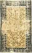 Early Ningxia Rug (Broken-Ice) 'Qing Dynasty-