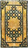 Early & Rare Ningxia Rug (Star Pattern) 'Qing Dynasty',