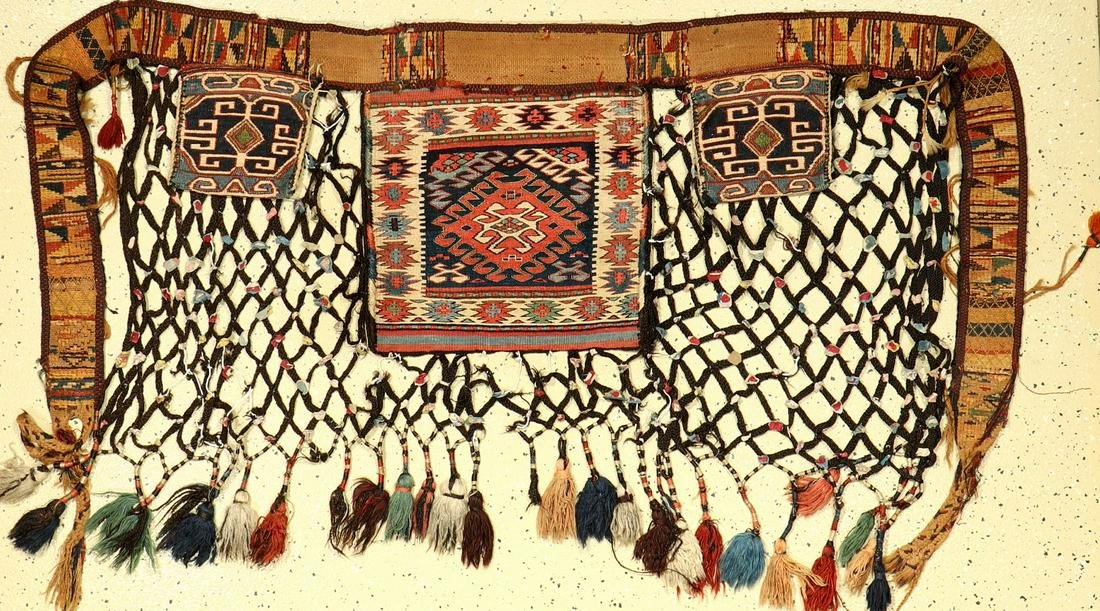 Fine Shahsavan Sumakh 'Qashoqdan' (Spoon Bag),