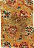 Very Fine Tibetan Shigatse 'Goyul' (Lotus),
