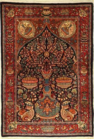 Saruk fine Rug old, Persia, approx. 40 years, wool