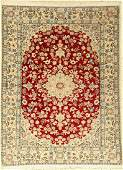 Fine Nain Rug 6LA Persia approx 20 yearswool with
