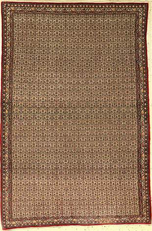 Very fine Esfahan Rug old, Persia, approx. 70 years,